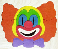 Clown Picture Puzzle