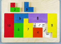Wooden Math Jigsaw Puzzle